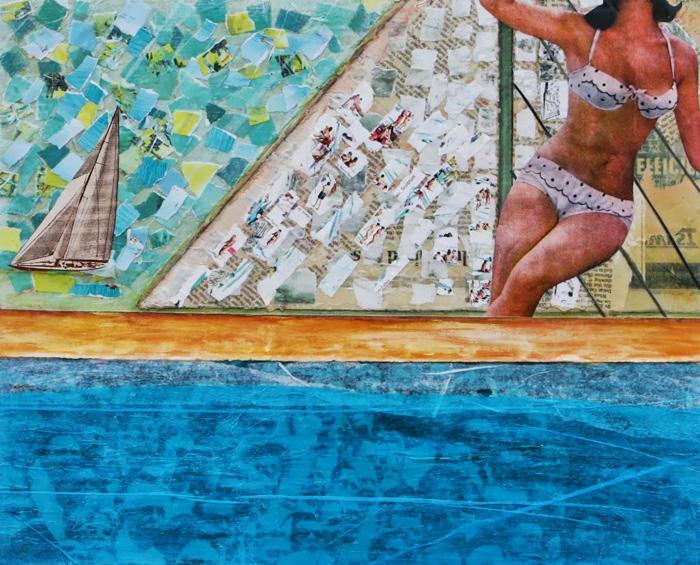 Sailing (A Day at the Beach) by Jill Allyn Stafford