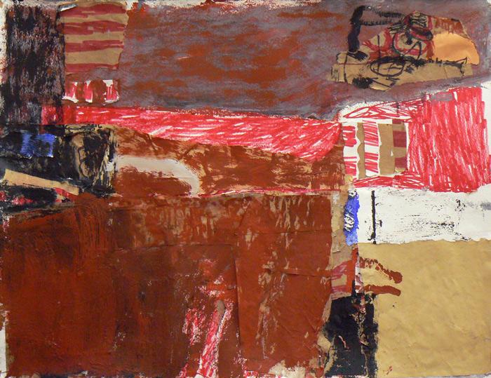 "untitled by Margaret Glew (19""x25""; 2013)"