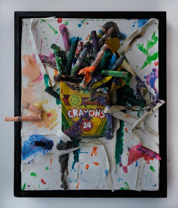 Burn All Crayons by Greg Haberny