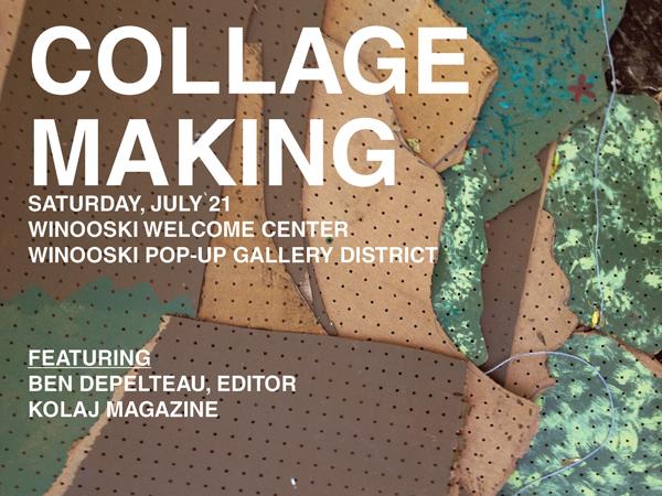 Collage Making in Winooski, Vermont (USA) | Kolaj Magazine
