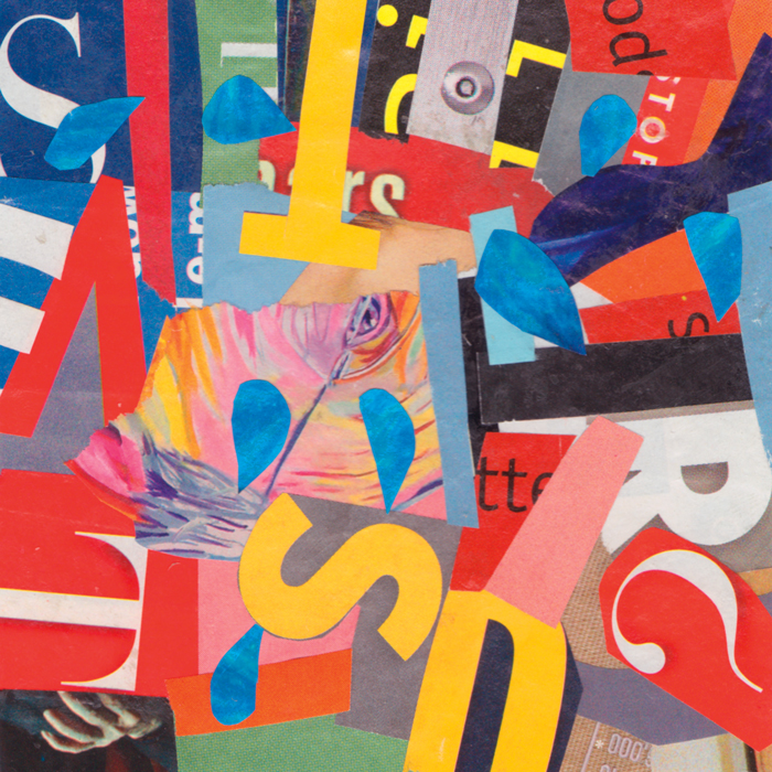 Hit Parade by Randel Plowman from The Collage Workbook