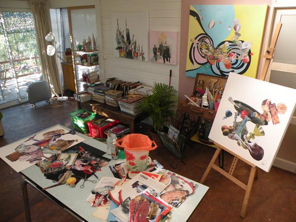 Marian Williams' studio