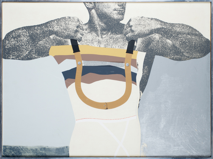 Adonis in Y-Fronts by Richard Hamilton
