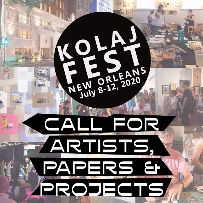 Kolaj Fest Call for Artists, Papers, and Projects