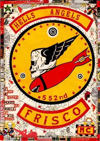 Hells Angels Frisco by Tony Fitzpatrick