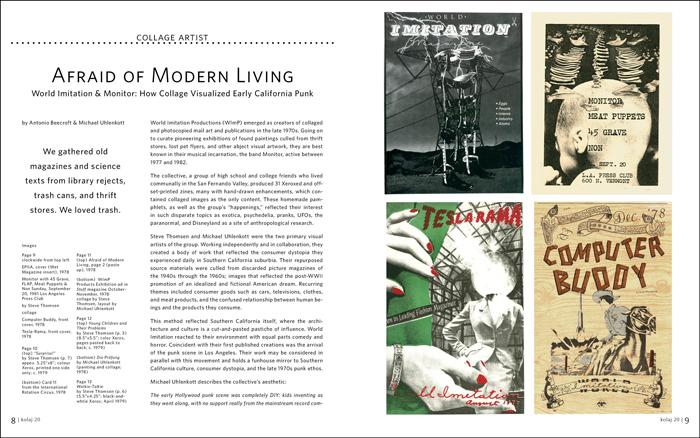 . Afraid of Modern Living   Kolaj Magazine