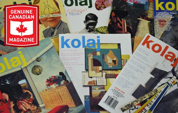 Kolaj in Magazines Canada