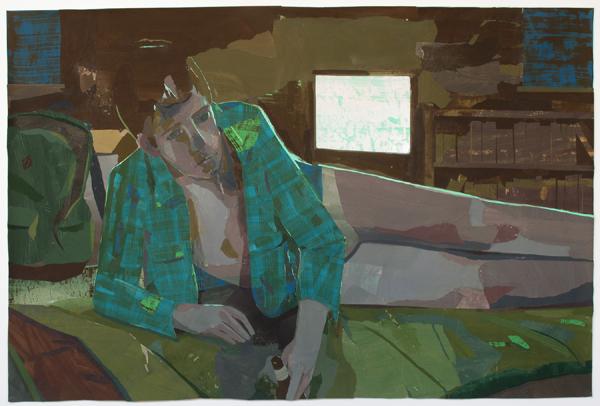 Bed on the Floor by Matt Bollinger