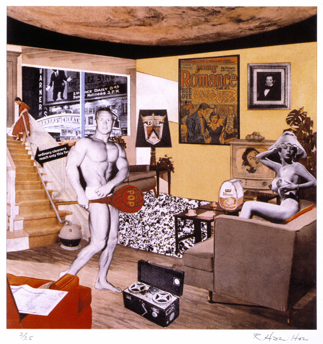Just what was it that made yesterday's homes so different, so appealing? by Richard Hamilton